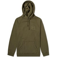 Denim By Vanquish And Fragment Icon Print Hoody Green