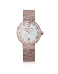 Lancaster Women's Watches Chimaera Rose Gold Stainless Steel Watch