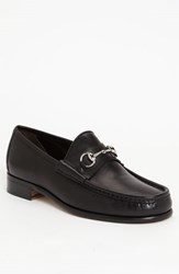 Gucci Men's Classic Leather Moccasin Black