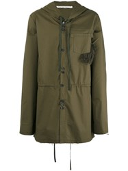 Damir Doma Jim Coat Green