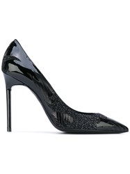 Saint Laurent Anja 105 Pumps Women Leather 40 Black