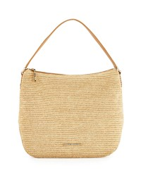 Elaine Turner Designs Elaine Turner Madelyn Raffia Shoulder Bag Natural