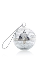 Dolce And Gabbana Discoball Bag Silver
