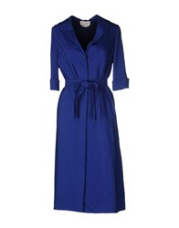 Andrea Incontri Knee Length Dresses Bright Blue