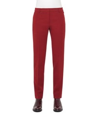 Akris Melvin Straight Leg Pants Miracle Berry