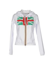 K Way Coats And Jackets Jackets Women White