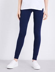 Sundry Skinny Mid Rise Jersey Jogging Bottoms Ink