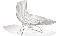 Knoll Bertoia Asymmetric Chaise No Cushion