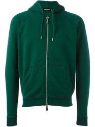 Dsquared2 Classic Hoodie Green