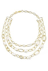 Ippolita Nova 18 Karat Gold Pearl Necklace Usd