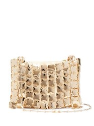 Paco Rabanne Square 1969 Chain Shoulder Bag Gold
