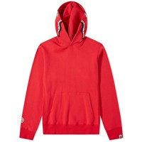 A Bathing Ape Shark Pullover Hoody Red