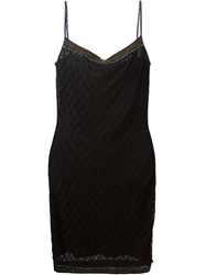 Christian Dior Vintage Crystal Embellished Dress Black