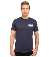 O'neill Interstate Short Sleeve Screen Tee Navy Men's T Shirt