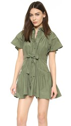 Marissa Webb Ilsa Dress Military Green