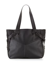 French Connection Kate Faux Leather Tote Bag Black
