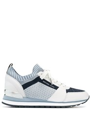 Michael Michael Kors Panelled Sneakers White