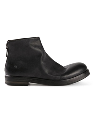 Marsell Chunky Ankle Boots Black