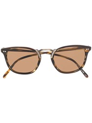 Oliver Peoples Roone Sunglasses Brown