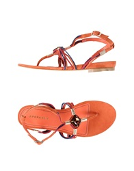 Apepazza Thong Sandals Acid Green
