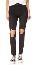 Ksubi High And Wasted Jeans Trash Black