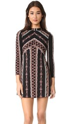 Free People Stella Mini Dress Black Combo