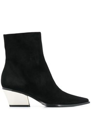Le Silla Rodeo Ankle Boots Black