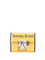 Undercover 'Bootleg Truth' Trifold Wallet Yellow