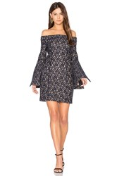 Keepsake Too Soon Mini Dress Navy