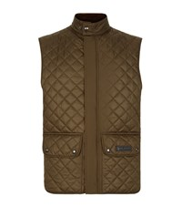 Belstaff Quilted Gilet Male Olive