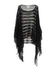 Jucca Capes And Ponchos Black
