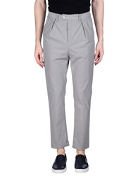 Camo Casual Pants Grey