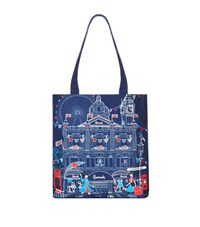 Harrods Sw1 Embroidered Tote Bag Unisex