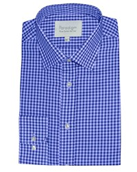 Paradigm By Double Two Formal Shirt Blue