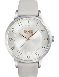 Boss 1502405 Eclipse Stainless Steel Quartz Movement Watch Silver