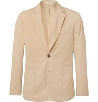 Paul Smith Beige Soho Slim Fit Cotton Suit Jacket