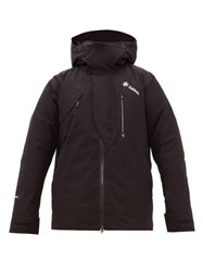 Goldwin Ouranos Hooded Ski Jacket Black