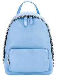 Stella Mccartney Mini Falabella Backpack Women Polyester One Size Blue