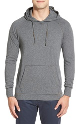 Jeremiah 'Blaine' Double Layer Hoodie Flint Heather