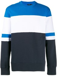 J. Lindeberg J.Lindeberg Hurl Colour Blocked Sweatshirt Blue
