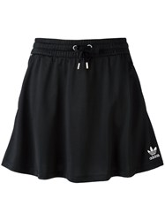 Adidas Originals Side Striped Skirt Black