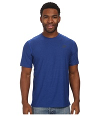 New Balance Shift Short Sleeve Top Optic Blue Heather Men's Short Sleeve Pullover