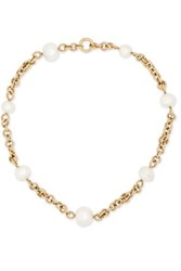 Spinelli Kilcollin Varuna 18 Karat Gold Pearl Necklace One Size