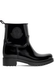Moncler 40Mm Rubber Boots Black