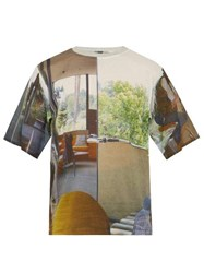 Bless Holidayinterior Photographic Print Cotton T Shirt Multi
