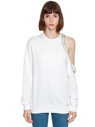 Forte Couture Cindy Crawford Sweatshirt White
