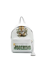 Moschino Teddy Motif Money Print Backpack 60