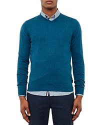 Ted Baker Cashguy V Neck Sweater Teal