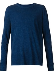 Simon Miller Long Sleeve T Shirt Blue