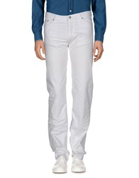 Versace Jeans Couture Casual Pants White
